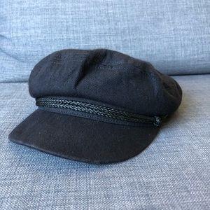 Brixton Black Trendy Fiddler Cap L (60cm)